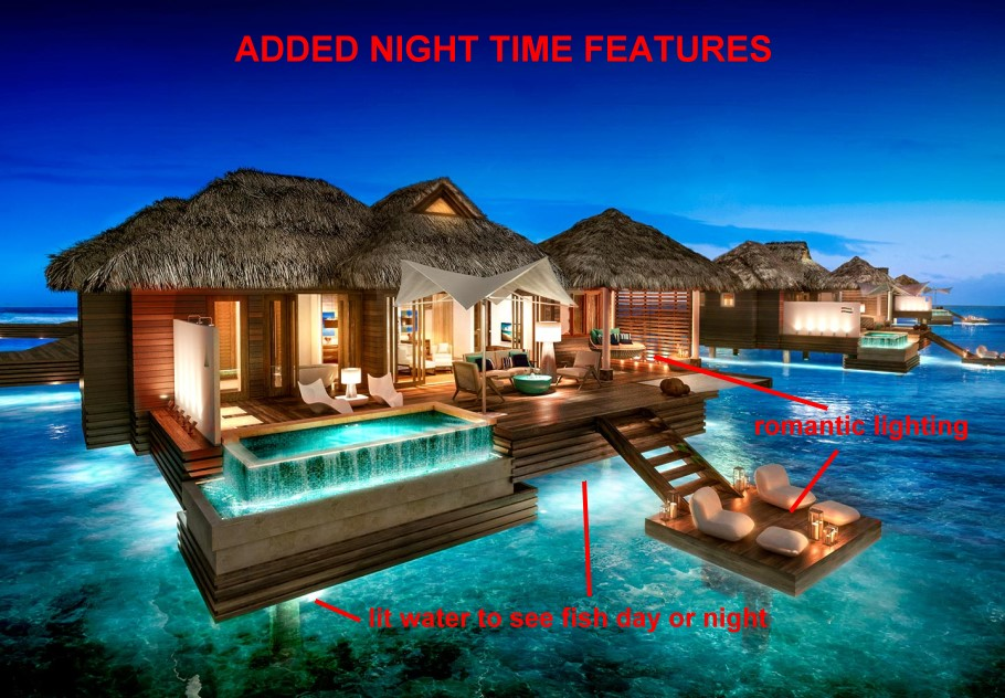 sandals-overwater-at-night