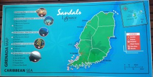 Confessions of a Sandals SCUBA Diving Beginner - Carefree Romantic on sandals resort st. lucia map, sandals halcyon map, sandals antigua map, sandals jamaica map, sandals ocho rios resort map, sandals resort nassau bahamas map,