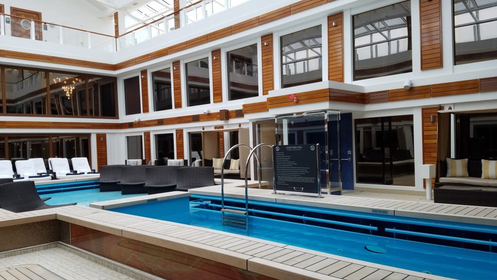 Norwegian Joy The Haven Courtyard Pool
