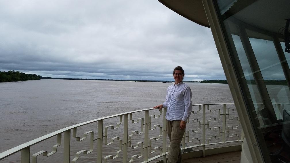 Peru river cruise Delfin III