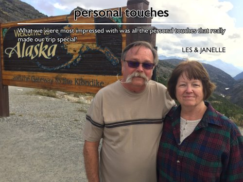 Couples Celebrates 40th Anniversary with Alaska Cruise