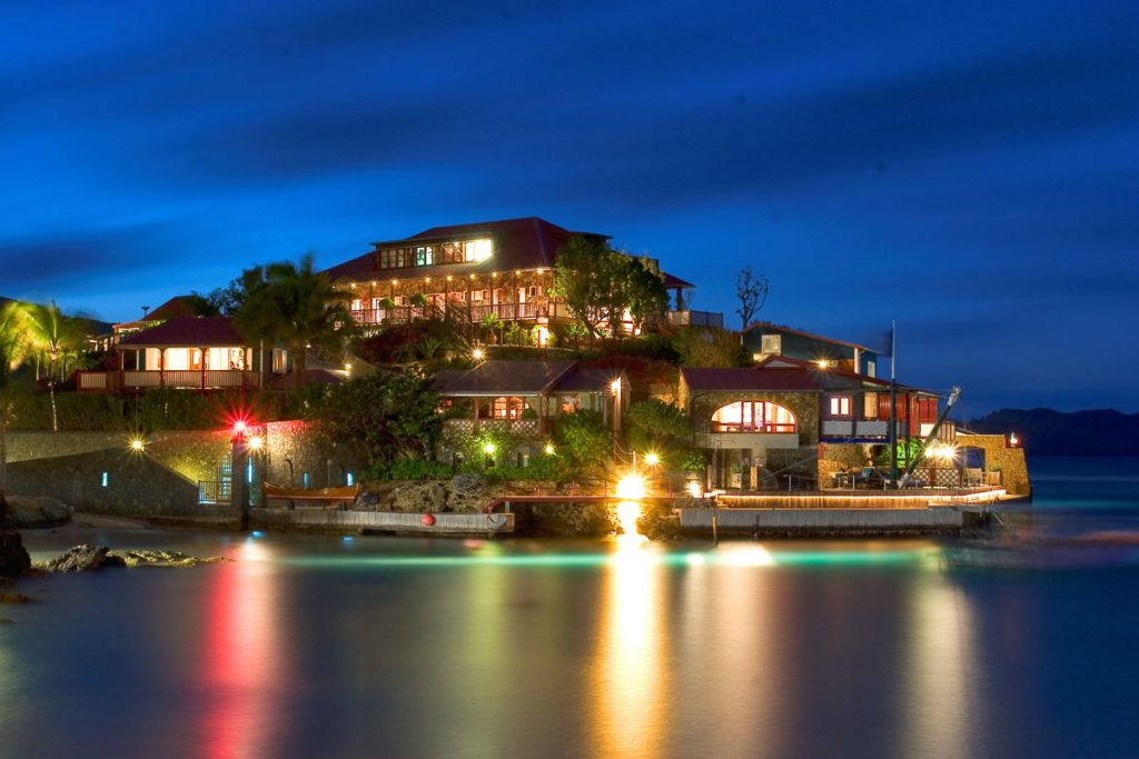 Eden Rock hotel on St. Barths