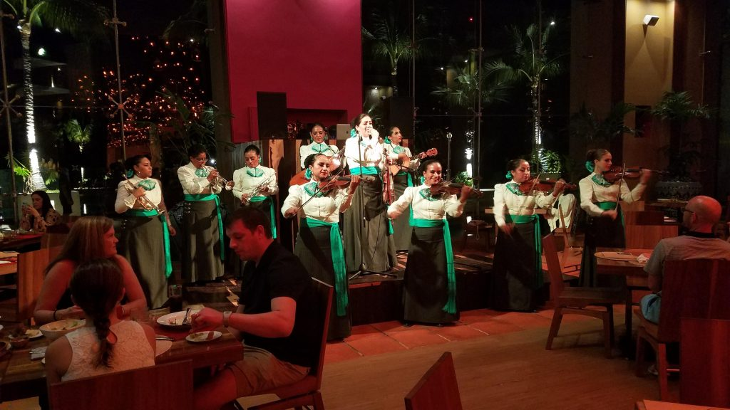 LIve entertainment at Hotel Xcaret