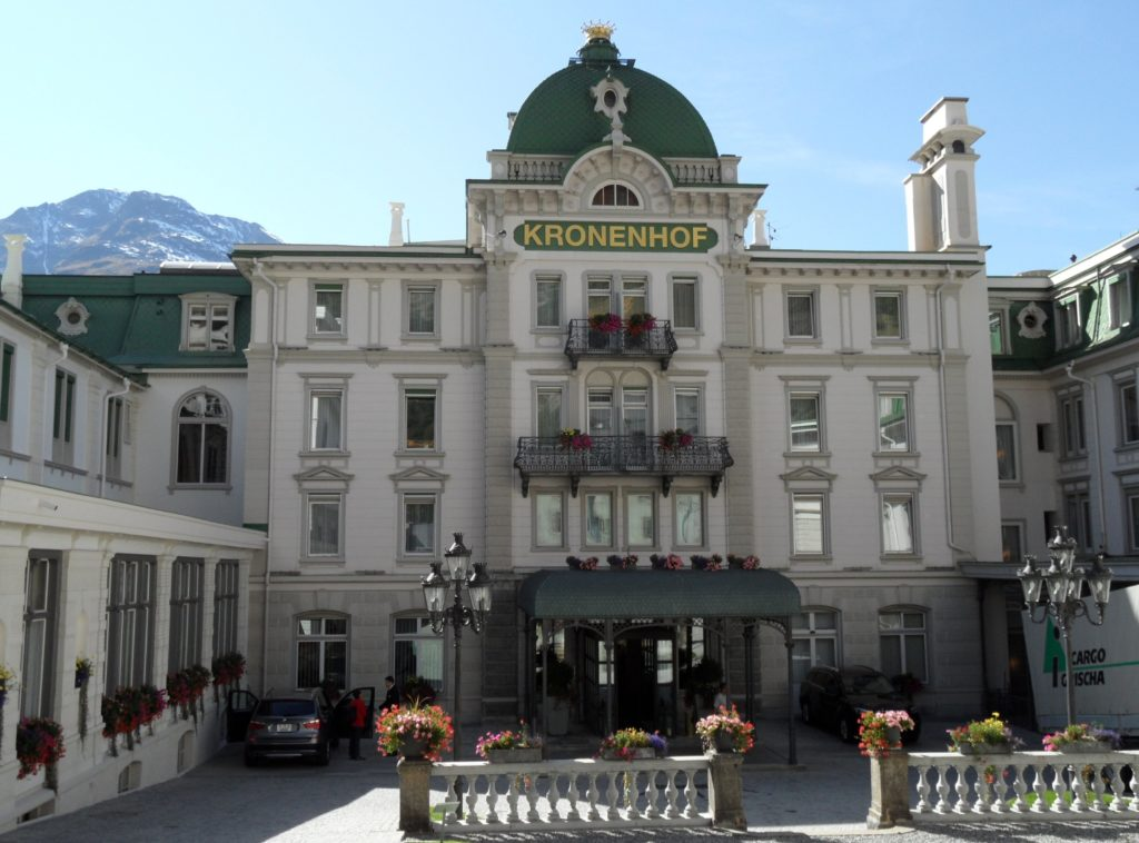 The Grand Hotel Kronenhof, Pontresina, Switzerland